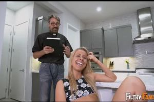 FilthyFamily – Squirter And Stepmom Worship A Cock