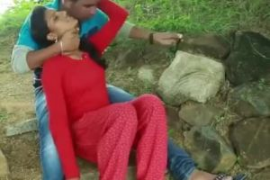 Indian Couple Outdoor Kissing Clips 2019 GIF