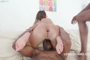 Insatiable Kristy Black?? Craves As Her Asshole Demolished By Hungry Black Bulls