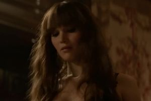 Jennifer Lawrence Naked And Sexy In Red Sparrow