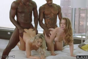 Kylie Page & Lena Paul – Pounded From Behind