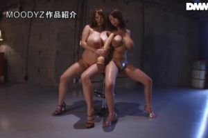 L-Cup And J-Cup Together At Last! Hitomi And Ria Sakuragi Have The Biggest Tits In The Industry!