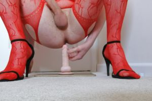 Loved Riding This Dildo! Thanks For 100 Followers!