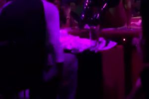 Party At A Rich Dude's House. Stripper Masturbating And Squirting On Client
