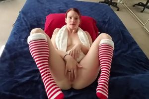 Quietly Playing With Myself In My Socks