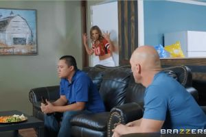 RealWifeStories – Britney Amber – Game Day Dicking