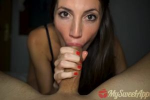 Slow Blowjob After Party