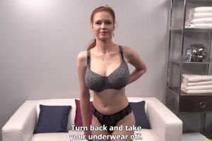 Sophia Traxler Very Hot Teen With Huge Natural Tits In Her First Porn Casting .