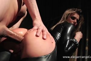 Tori Black Dressed In A Hot Catsuit – Gets Her Ass Fucked